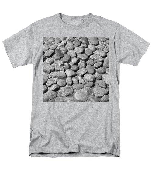 Nantucket Cobblestones Men's T-Shirt  (Regular Fit) by Charles Harden