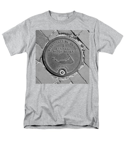 Nantucket Water Meter Cover Men's T-Shirt  (Regular Fit) by Charles Harden
