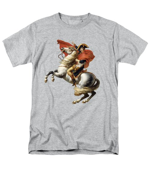 Napoleon Bonaparte On Horseback Men's T-Shirt  (Regular Fit) by War Is Hell Store