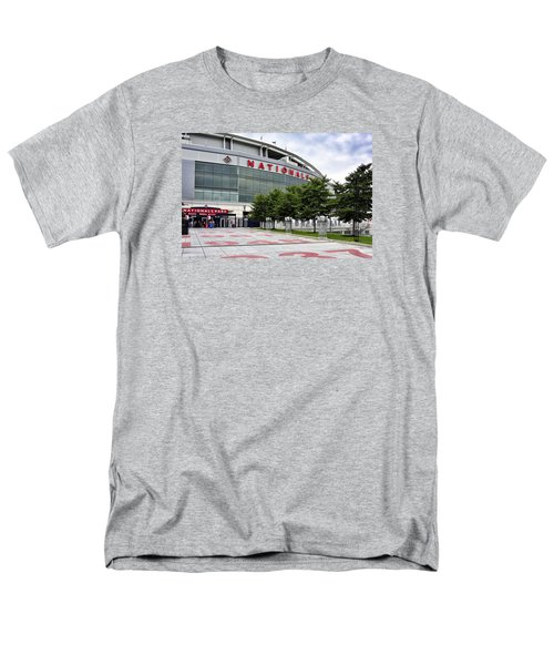 Nats Park - Front Entrance  Men's T-Shirt  (Regular Fit) by Brendan Reals