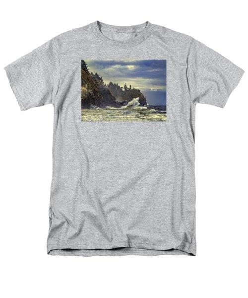 Natures Beauty Unleashed Men's T-Shirt  (Regular Fit)