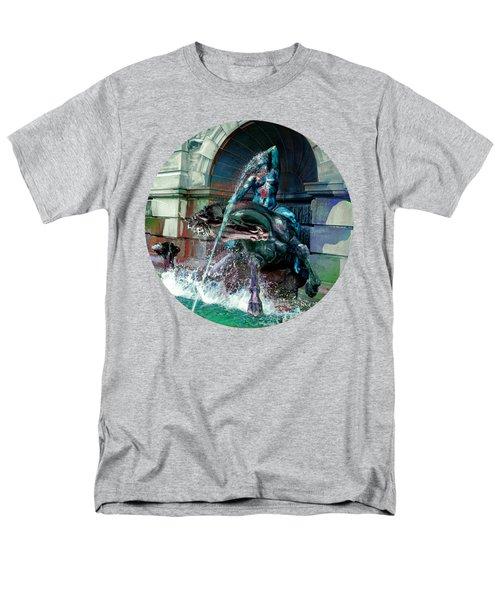 Men's T-Shirt  (Regular Fit) featuring the photograph Neptune Nymph 2 by Robert G Kernodle