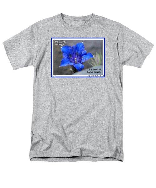 Never Be Cruel Men's T-Shirt  (Regular Fit)