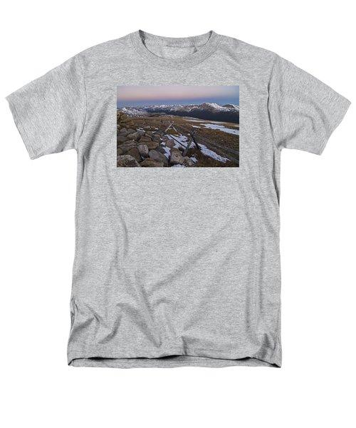 Never Summer Range Men's T-Shirt  (Regular Fit) by Gary Lengyel