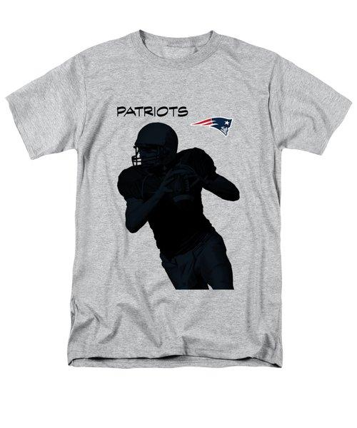 New England Patriots Football Men's T-Shirt  (Regular Fit) by David Dehner