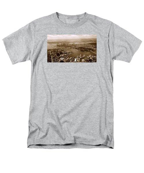 Men's T-Shirt  (Regular Fit) featuring the photograph New York Skyline by Chris Fraser