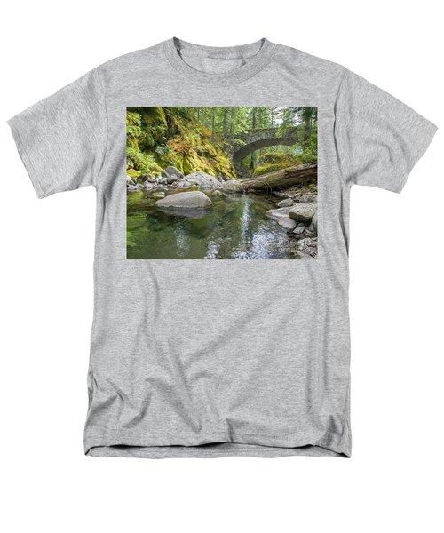 Nickel Creek 1024 Men's T-Shirt  (Regular Fit) by Chuck Flewelling