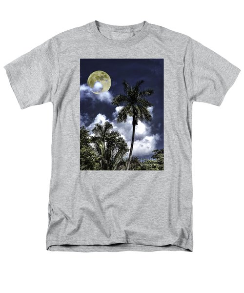 Men's T-Shirt  (Regular Fit) featuring the photograph Night Palms by Ken Frischkorn