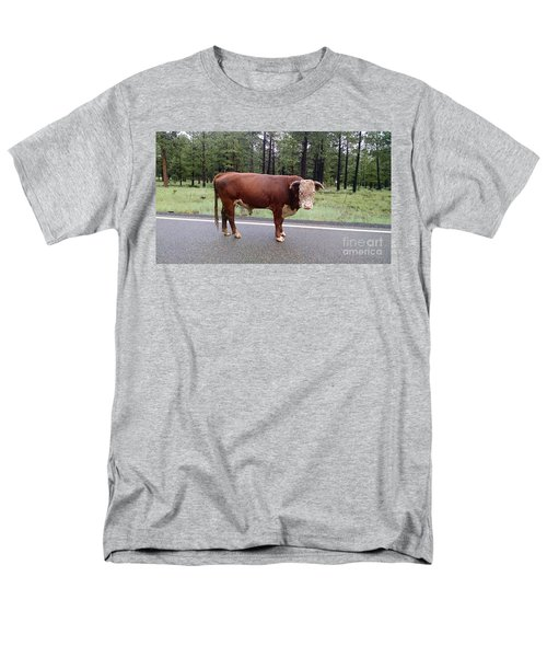 Men's T-Shirt  (Regular Fit) featuring the photograph No Bull by Roberta Byram