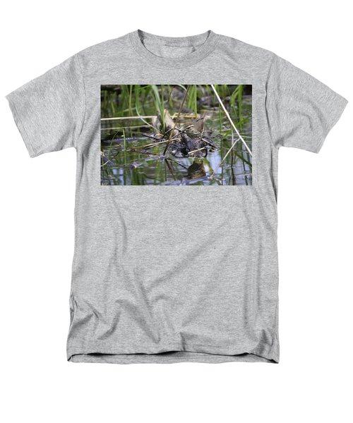 Northern Waterthrush Men's T-Shirt  (Regular Fit) by Gary Hall