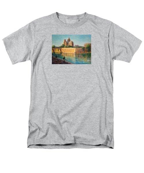Notre Dame In Sunshine Men's T-Shirt  (Regular Fit)