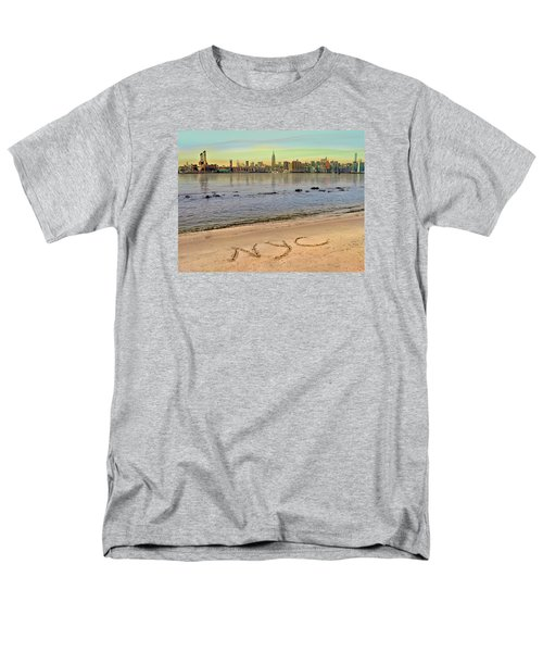 Men's T-Shirt  (Regular Fit) featuring the photograph NYC by Nina Bradica