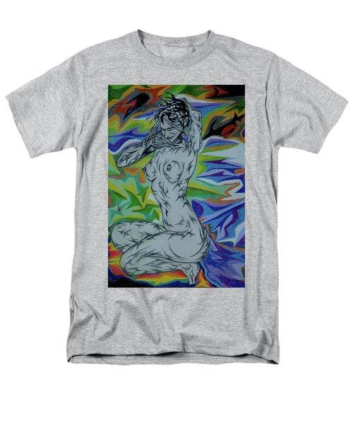 Nymph In Paradise Men's T-Shirt  (Regular Fit) by Robert SORENSEN