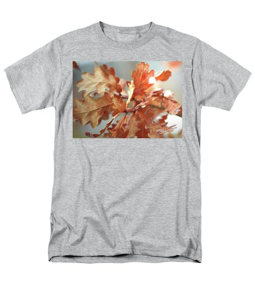 Oak Leaves In Autumn Men's T-Shirt  (Regular Fit) by Wilhelm Hufnagl