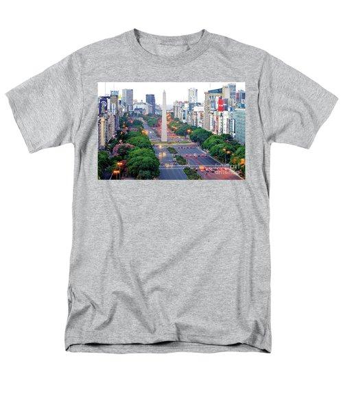 Obelisk 04 Men's T-Shirt  (Regular Fit) by Bernardo Galmarini