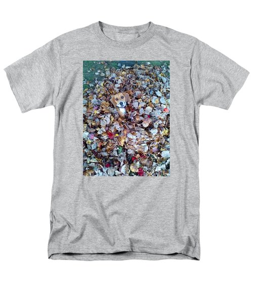 Oh How I Just Love Fall Men's T-Shirt  (Regular Fit) by Annlynn Ward