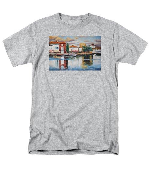 Oil Msc 019 Men's T-Shirt  (Regular Fit) by Mario Sergio Calzi