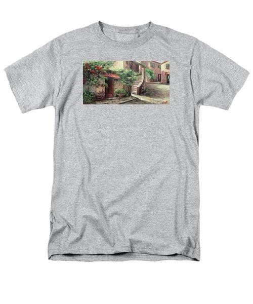 Oil Msc 058 Men's T-Shirt  (Regular Fit) by Mario Sergio Calzi