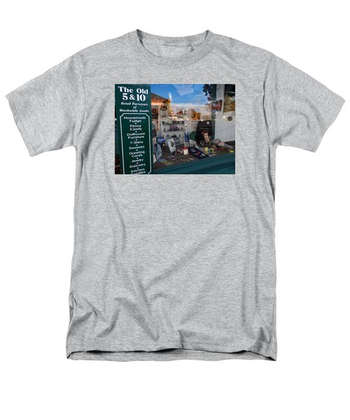Men's T-Shirt  (Regular Fit) featuring the photograph Old 5 And 10 North Conway by Nancy De Flon