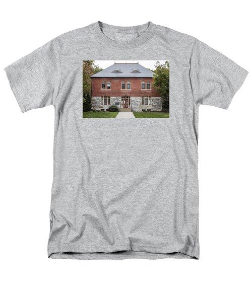 Old Botany Building Penn State  Men's T-Shirt  (Regular Fit) by John McGraw