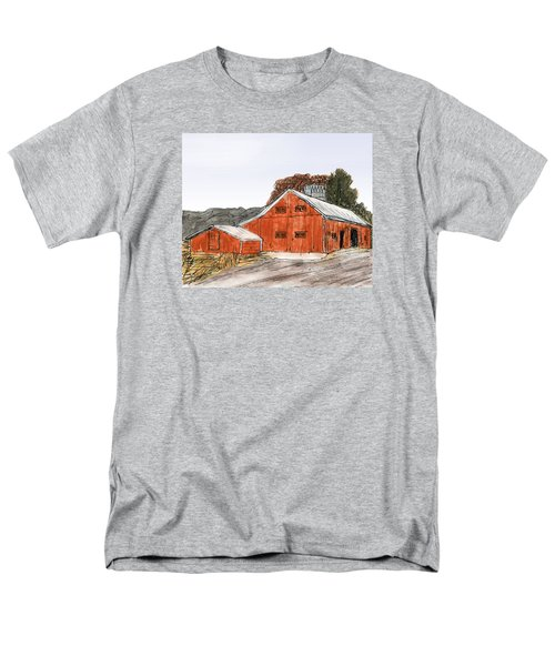 Old Farm In The Country Men's T-Shirt  (Regular Fit) by R Kyllo