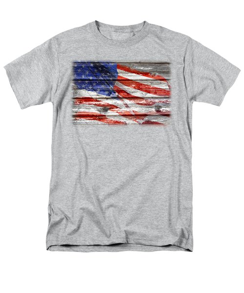 Old Glory Men's T-Shirt  (Regular Fit) by Phyllis Denton