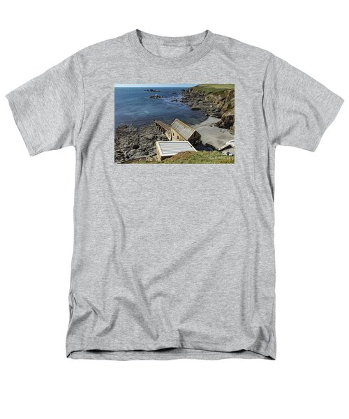 Men's T-Shirt  (Regular Fit) featuring the photograph Old Lifeboat Station by Brian Roscorla