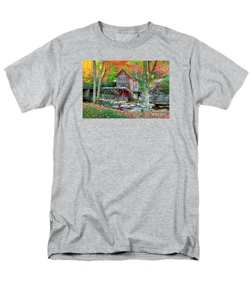 Old Mill Men's T-Shirt  (Regular Fit) by Emmanuel Panagiotakis