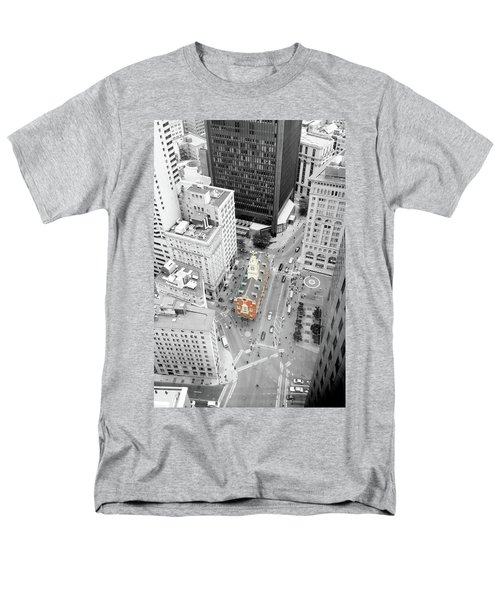 Old State House Men's T-Shirt  (Regular Fit) by Greg Fortier