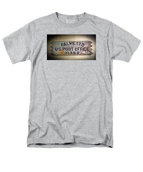 Old Palmetto Sign Men's T-Shirt  (Regular Fit) by Paul Mashburn