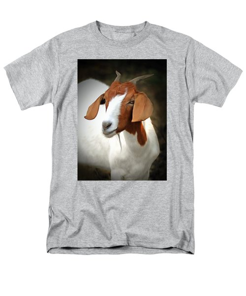 Men's T-Shirt  (Regular Fit) featuring the photograph Old Red by Marion Johnson