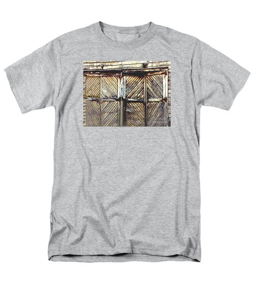 Old Rusted Barn Door Men's T-Shirt  (Regular Fit) by Merton Allen