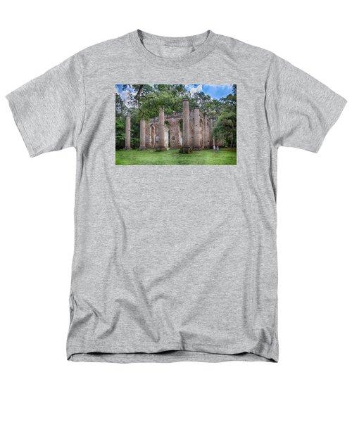 Old Sheldon Church Men's T-Shirt  (Regular Fit) by Patricia Schaefer