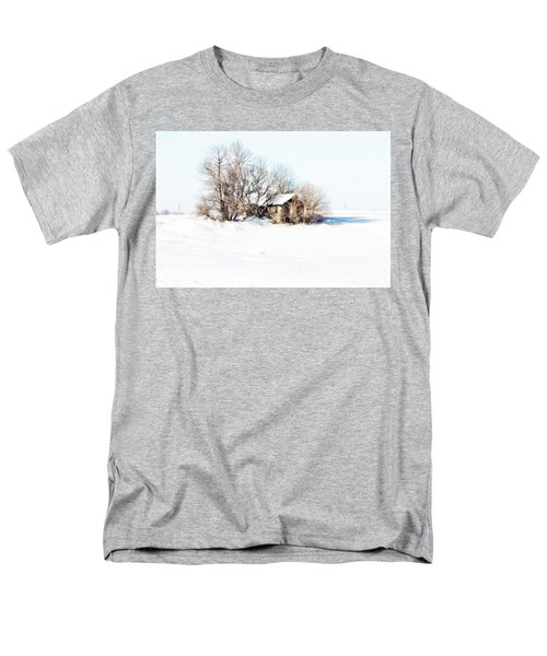 Men's T-Shirt  (Regular Fit) featuring the photograph Old  Stone House Milford by Julie Hamilton