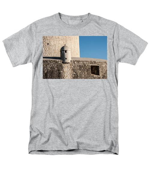Men's T-Shirt  (Regular Fit) featuring the photograph Old Town Dubrovnik by Silvia Bruno