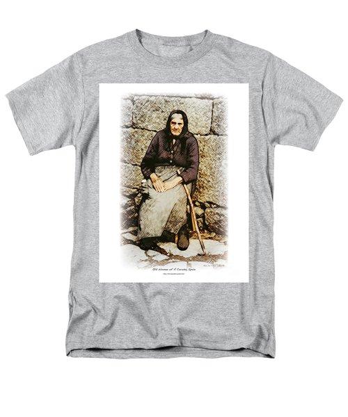 Old Woman Of Spain Men's T-Shirt  (Regular Fit)