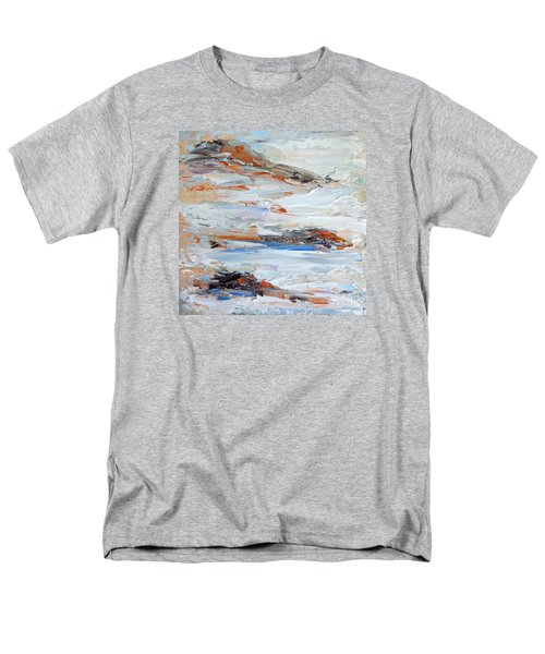 On Da Rocks Men's T-Shirt  (Regular Fit) by Fred Wilson