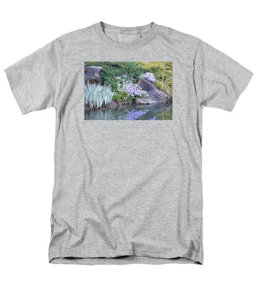 On The Banks Of The Pool Men's T-Shirt  (Regular Fit) by Linda Geiger