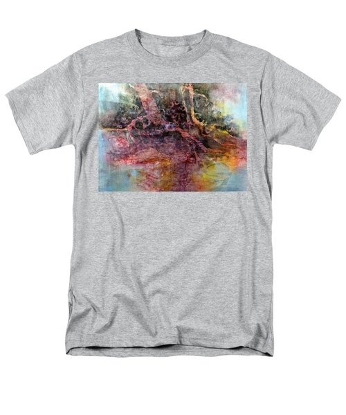 Men's T-Shirt  (Regular Fit) featuring the painting On The Peninsula by Carolyn Rosenberger
