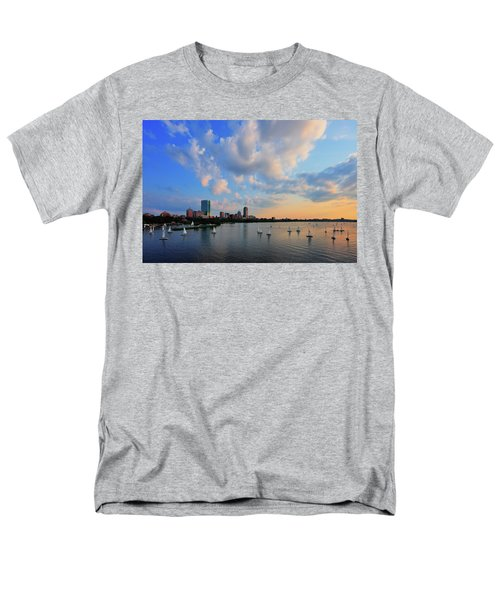 On The River Men's T-Shirt  (Regular Fit) by Rick Berk