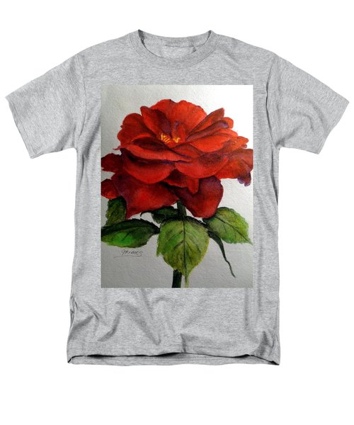 One Beautiful Rose Men's T-Shirt  (Regular Fit) by Carol Grimes