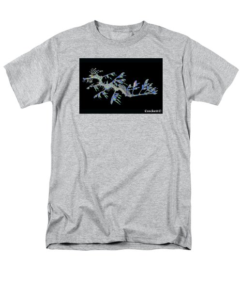 Men's T-Shirt  (Regular Fit) featuring the photograph Opalised Sea Dragon by Gary Crockett
