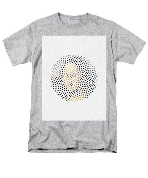 Men's T-Shirt  (Regular Fit) featuring the digital art Optical Illusions - Famous Work Of Art 1 by Klara Acel