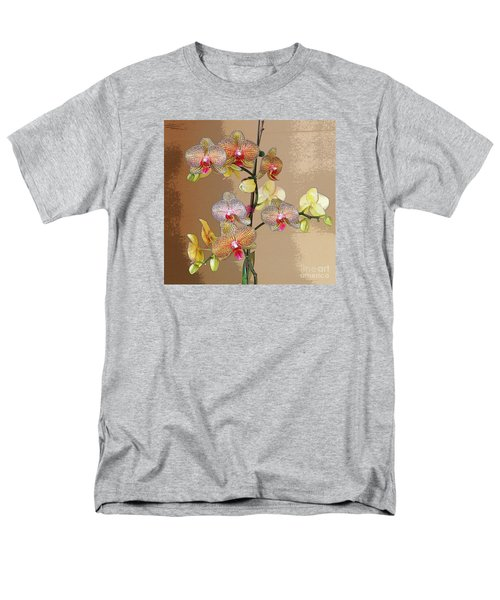 Men's T-Shirt  (Regular Fit) featuring the photograph Orchid Love by Jeanette French