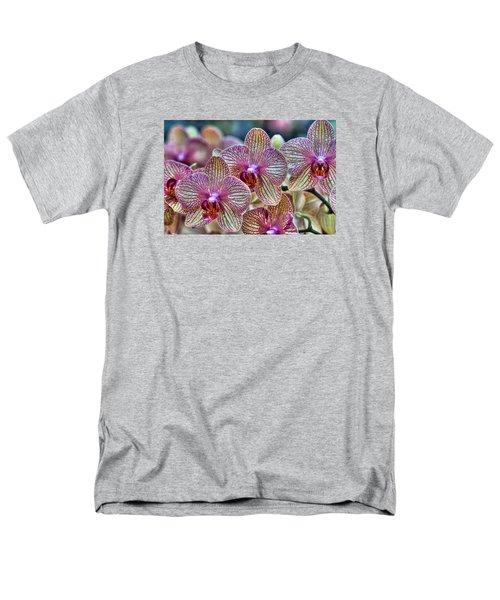 Orchid Melody Men's T-Shirt  (Regular Fit) by Nadia Sanowar