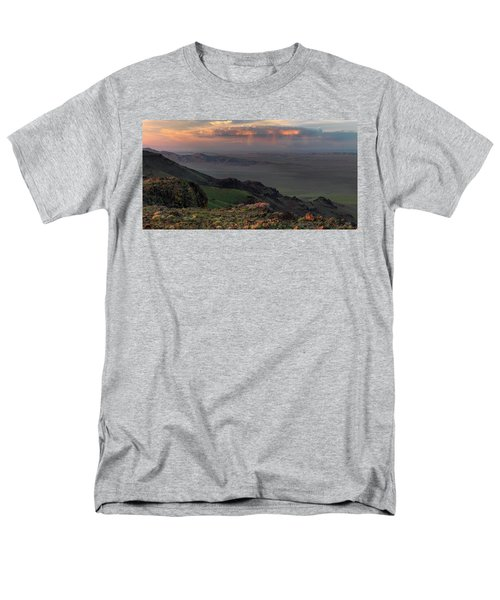 Men's T-Shirt  (Regular Fit) featuring the photograph Oregon Canyon Mountain Views by Leland D Howard