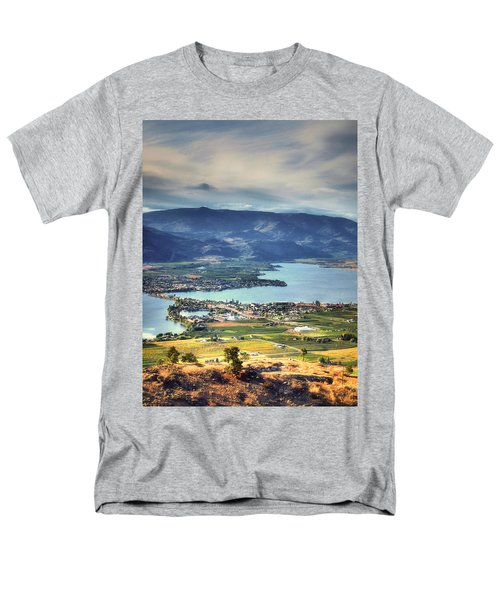 Osoyoos Lake 2 Men's T-Shirt  (Regular Fit) by Tara Turner