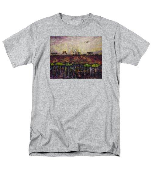 Other World 4 Men's T-Shirt  (Regular Fit) by Ron Richard Baviello