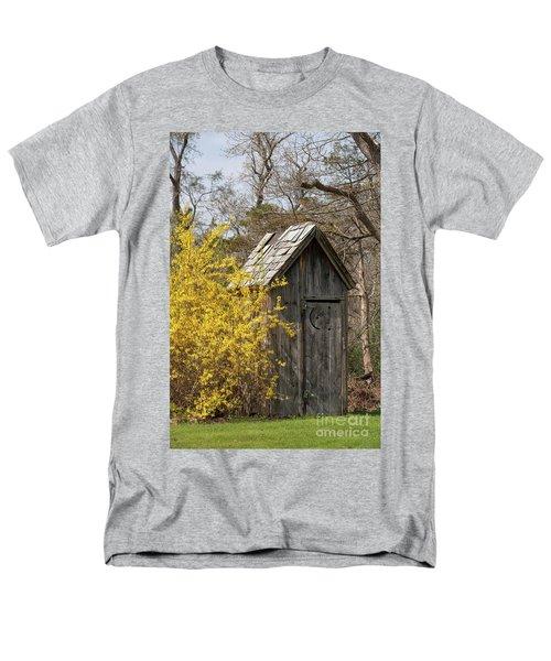 Outdoor Plumbing Men's T-Shirt  (Regular Fit) by Nicki McManus