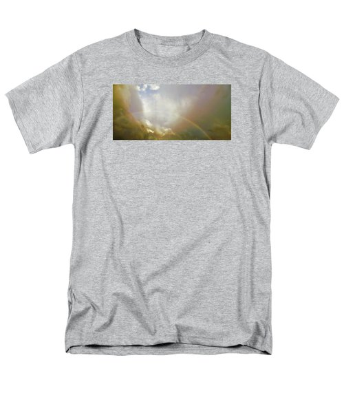 Men's T-Shirt  (Regular Fit) featuring the photograph Over The Rainbow by Deborah Moen